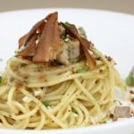 ①トンノB,P/カジキマグロのスパゲティ