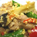 ④アリオリーノ/豚肉と野菜の炒め物02
