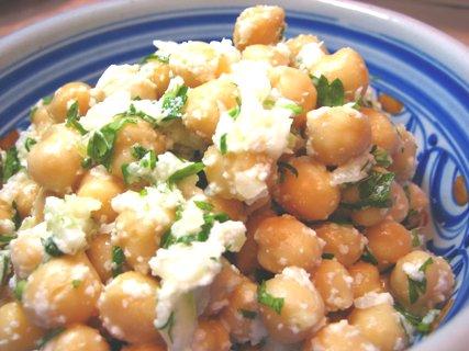 ⑤ガーリッククリーム/ひよこ豆のサラダ02