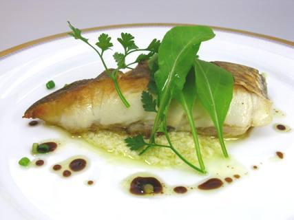 ⑦ガーリッククリーム/白身魚のロースト02