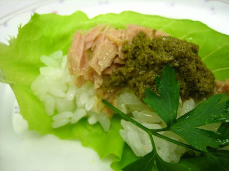 寿司ツナバジル