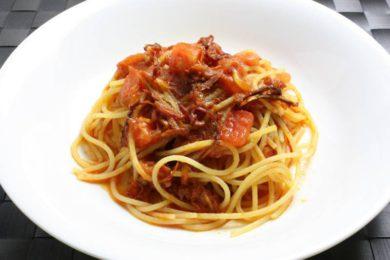 3種のトマトのスパゲッティ